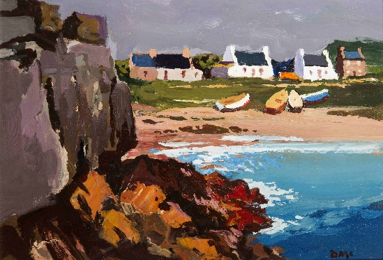 Donald McIntyre - Cottages by the Sea