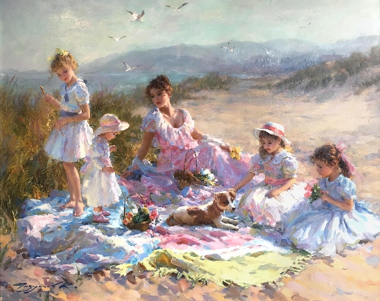 Konstantin Razumov - Afternoon at The Seaside