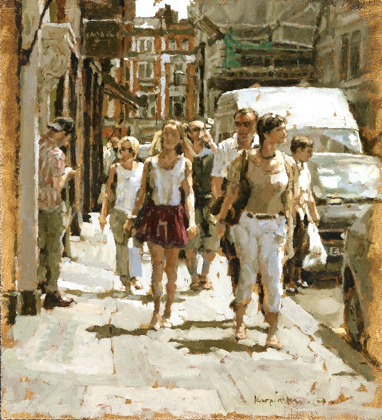 Tony Karpinski London Collection - Streets of Soho