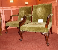 Mahogany Gainsborough Armchairs