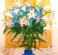 Still Life of Lilies