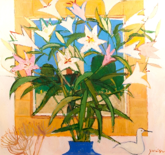 Charles Jamieson - Still Life of Lilies