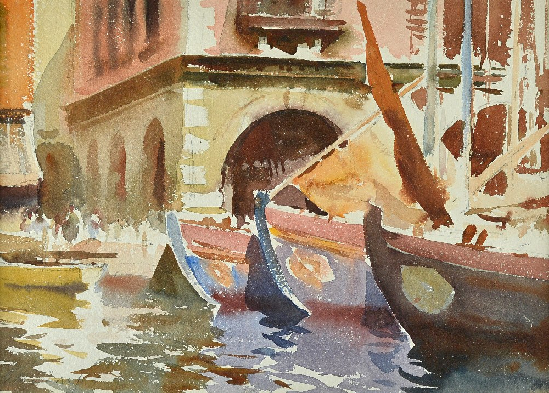 Edward Brian Seago - Fishing Boats, Italy