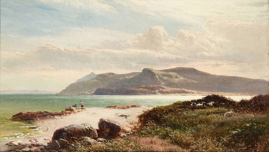Sidney Richard Percy - Brodick Bay, Arran