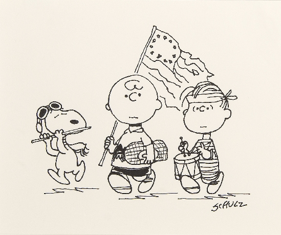 Charles M Schulz - Charles, Linus and Snoopy