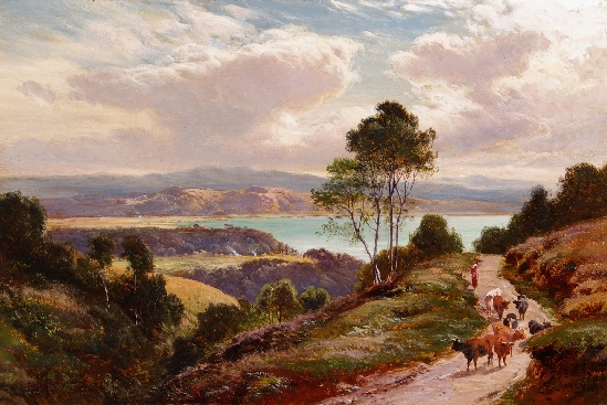 Sidney Richard Percy - At Grange Over Sands, Lancashire