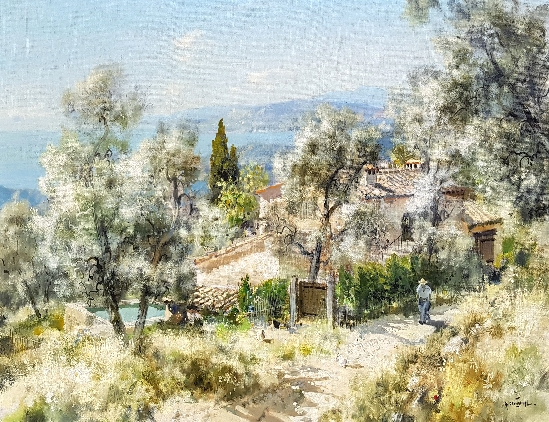 Gabriel Deschamps - French Mediterranean Villa
