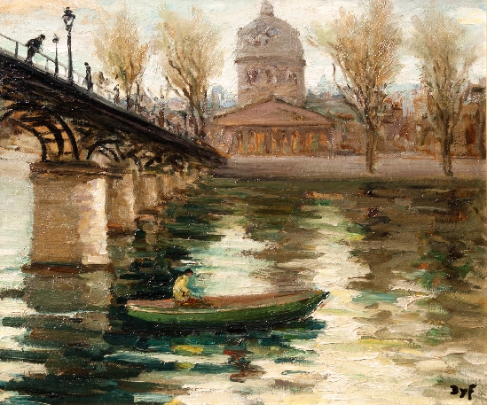 Marcel Dyf - Boating On The Seine