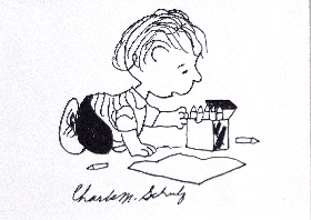Linus the artist