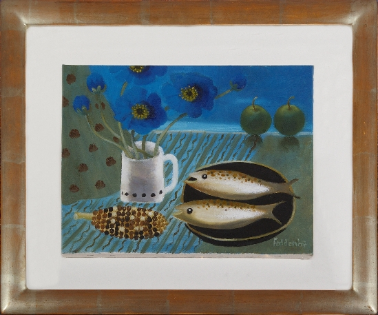 Mary Fedden - Still Life with Fish