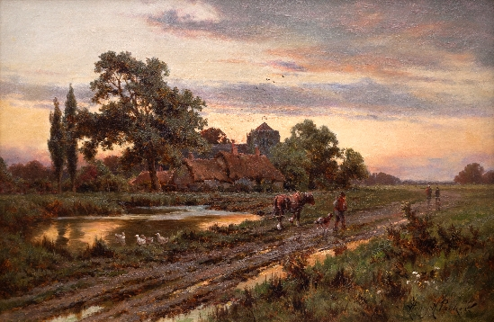 Henry Hillingford Parker - The Road Home