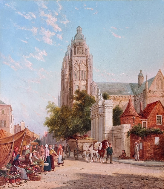 William Raymond Dommersen - The Cathedral