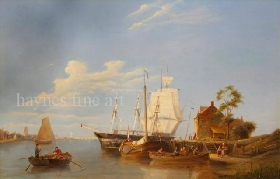 Dutch Shipping Scene