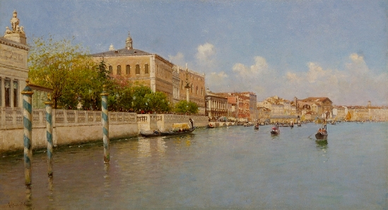 Rafael Senet Y Perez - View of The Grand Canal
