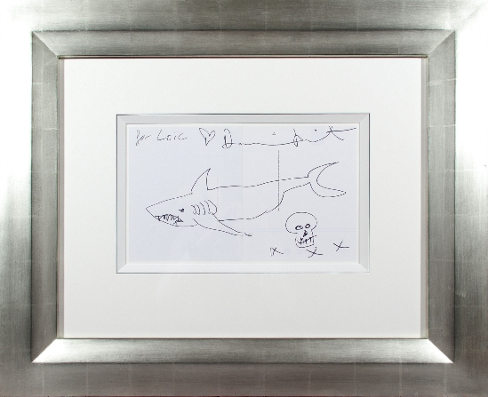 Damien Hirst - Shark With a Skull xxx