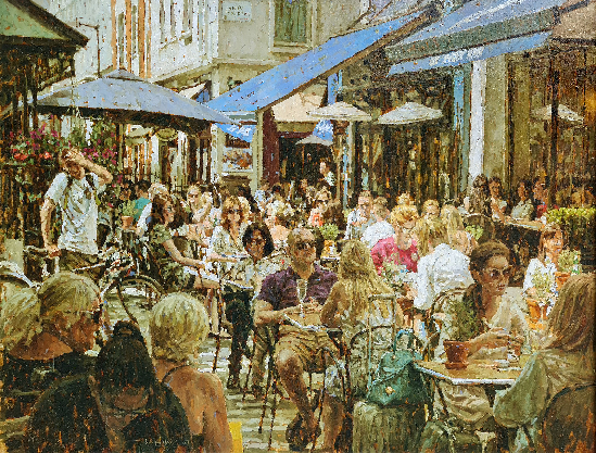 Tony Karpinski London Collection - No Seats Left