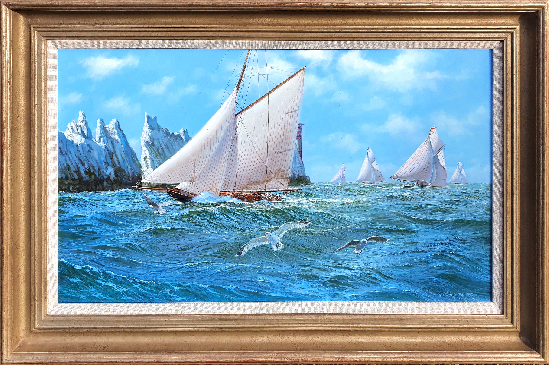 Stephen J. Renard - Steep Seas off the Needles