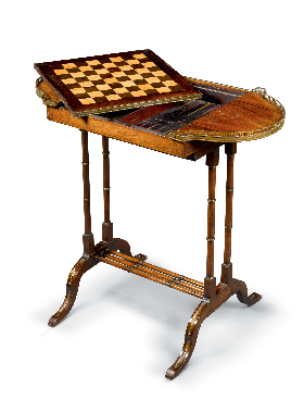 Backgammon and Chess Table