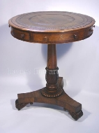 A Good Small Regency Rosewood Occasional Drum Table. Circa 1815
