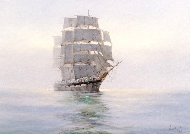Dawn Mists, The Wool Clipper 'Loch Maree'