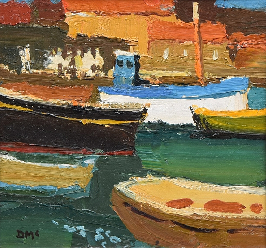 Donald McIntyre - Boats at Collicoure