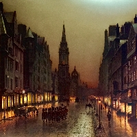 A View of The Royal Mile, Edinburgh