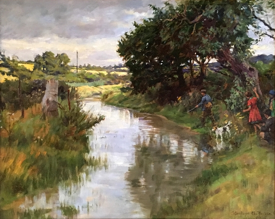 Stanhope Alexander Forbes, RA - The Blue River