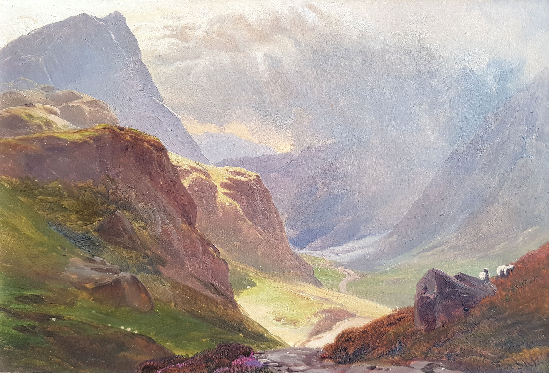 Sidney Richard Percy - Highland Pastures (A Pair)