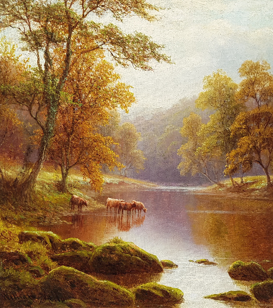 William Mellor - Cattle Watering