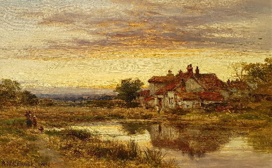 Benjamin Williams Leader - A Lonely Homestead