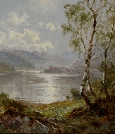 On the banks of Derwent water