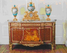 A Very Fine French Commode , by Henri Dasson in the Louis XVI, Circa 1850-1870