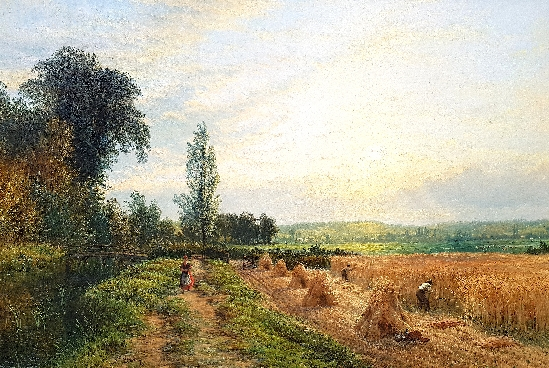 Henry Thomas Dawson - Harvest Time