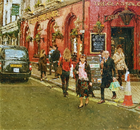 Tony Karpinski London Collection - The Glassblower