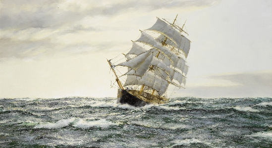 "Henry Scott - The American Clipper - ""Leading Wind"""