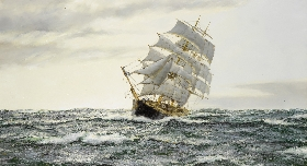 "The American Clipper - ""Leading Wind"""