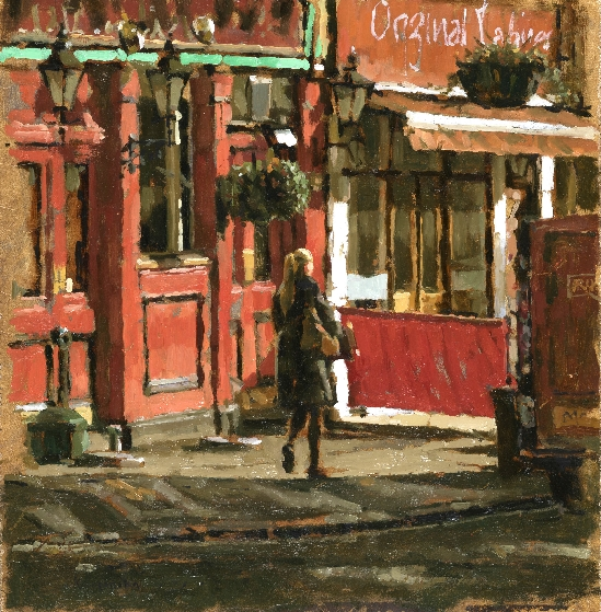 Tony Karpinski London Collection - Outside the Barley Mo